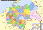 Greater German Reich Subdivisions in 1942