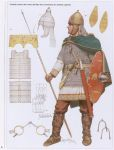 Frankish warrior, 6th century
