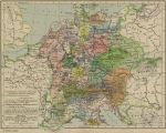 Map of Central Europe, 1477
