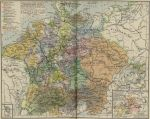 Map of Central Europe, 1547