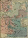 Spread of German Settlement to the Eastward, 800-1400 AD