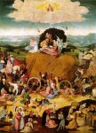 The Haywain Triptych, Central Panel by Hieronymus Bosch