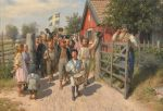 August Malmström - The Old and the Young Sweden