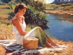 Ariana Richards - Listening to the River