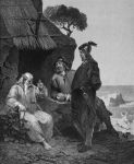 August Malmström - Olof Tryggvason's Conversion to Christian Doctrine