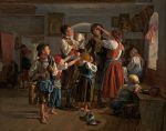 Ferdinand Georg Waldmüller - The Conscript's Farewell