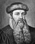 Johannes Gutenberg - German inventor of printing press in Europe ~ 1400's