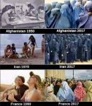 Afghanistan, Iran, France ... Then and Now